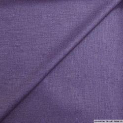 Bourrette polyester violet