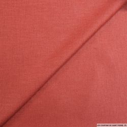 Bourrette polyester rouge