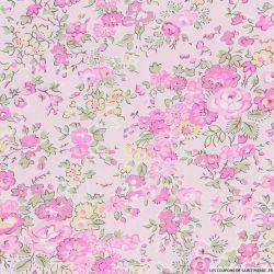 Coton liberty ® Tatum rose au mètre