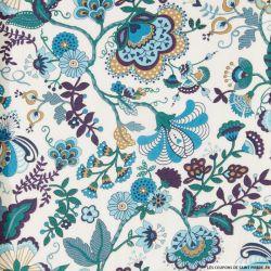 Coton liberty ® Mabelle bleu au mètre