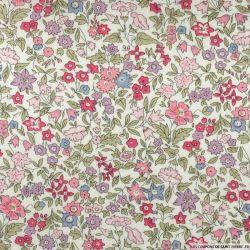 Coton liberty ® Ava rose au mètre