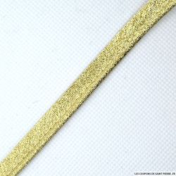 Passepoil lamé doré au mètre