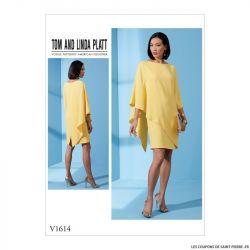 Patron Vogue V1614 : Robe semi-ajustée