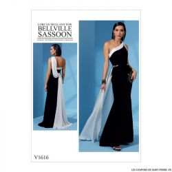 Patron Vogue V1616 : Robe princesse