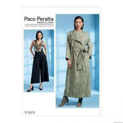 Patron Vogue V1619 : Veste et pantalon