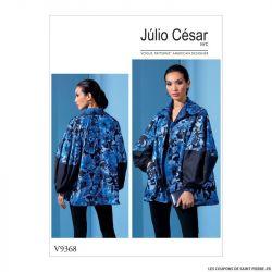 Patron Vogue V9368 : Veste ample