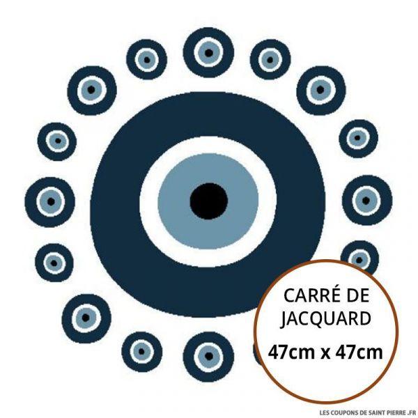 Jacquard Oeil - 47cm x 47cm
