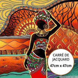 Jacquard Africa - 47cm x 47cm