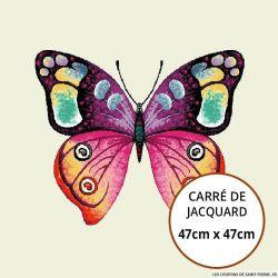 Jacquard Papillon - 47cm x 47cm