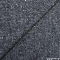 Jean's coton bleu brut moucheté