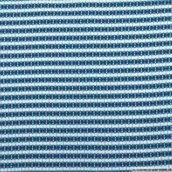 Microfibre imprimé rayures graphique bleu