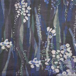 Toile de soie imprimé aqurarelle impressionniste