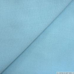 Etamine acrylique bleu