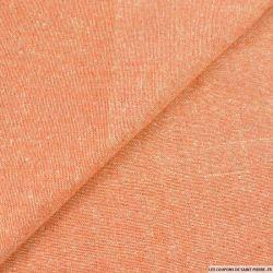 Bourrette de soie corail chiné