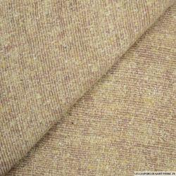 Bourrette de soie rose et blé