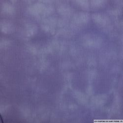 Crêpe de viscose tie and die violet
