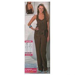 Patron Modes & Travaux - Combinaison pantalon (Patron pour femme)