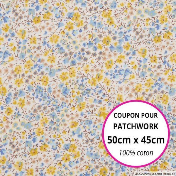 Coton liberty ® Phoebe Chebika Coupon 50x45cm
