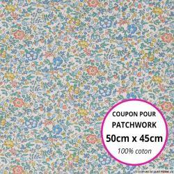 Coton liberty ® Katie Millie Leitha - Coupon 50x45cm