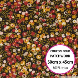 Coton liberty ® Wiltshire septembre - Coupon 50x45cm