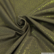 Jersey polyester irisé kaki