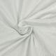 Jersey polyester irisé argent fond blanc