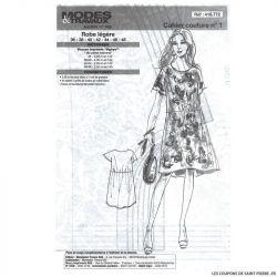 Patron n°418 772 Modes & Travaux - Robe légère