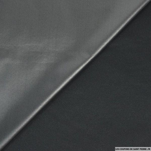 Tissu PUL imperméable anthracite au mètre
