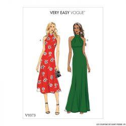 Patron Vogue V9373 : Robe moulante