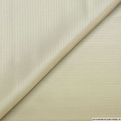 Jacquard polyester fantaisie mastic