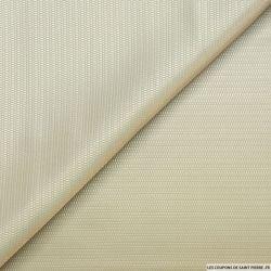 Jacquard polyester fantaisie mastic