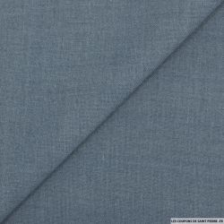 Etamine acrylique bleu jeans