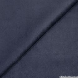 Suédine scuba bleu nuit