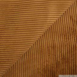 Velours côtelé marron