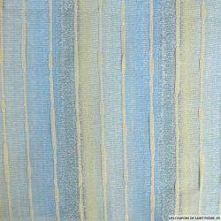 Tweed polycoton brume