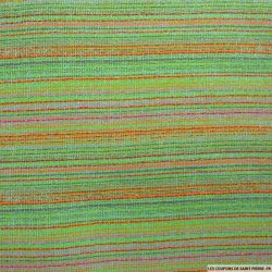Tweed polyester multicolore