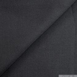 Sergé 100% laine noir