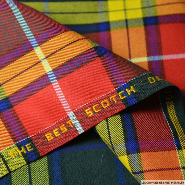 Clan écossais multicolore