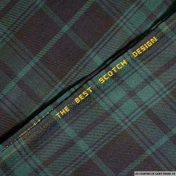 Clan écossais marine et vert