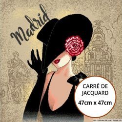 Jacquard Femme Madrid - 47cm x 47cm