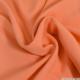 Crêpe polyester corail