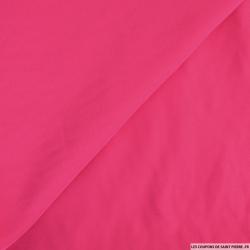 Crêpe polyester fuchsia