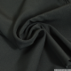 Crêpe polyester noir
