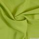 Crêpe polyester vert avocat