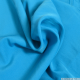 Crêpe polyester turquoise