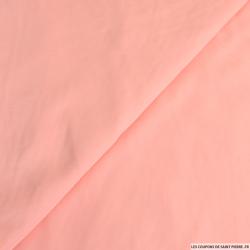 Crêpe polyester rose