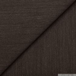 Lainage tailleur rayures taupe