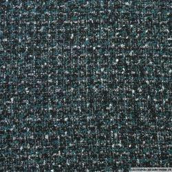 Tweed polycoton canard et noir