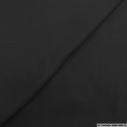 Crêpe polyviscose noir