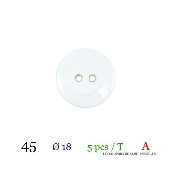 Tube 5 boutons Ø 18mm